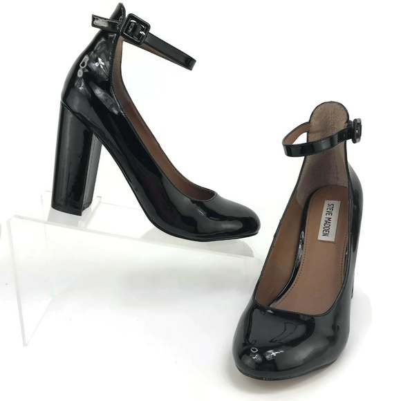 b4022f24434 Steve Madden Vivii Mary Janes Black Heels Sz 7.5.  M 5c58819fc61777f7c0dd8ea6. Other Shoes ...